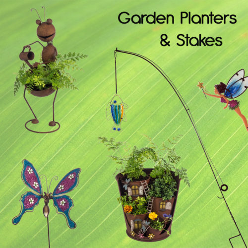 Pot Covers/Planters & Garden Stakes